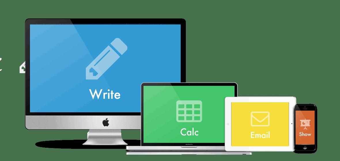 Аналогичные версии офисных приложений и их состав